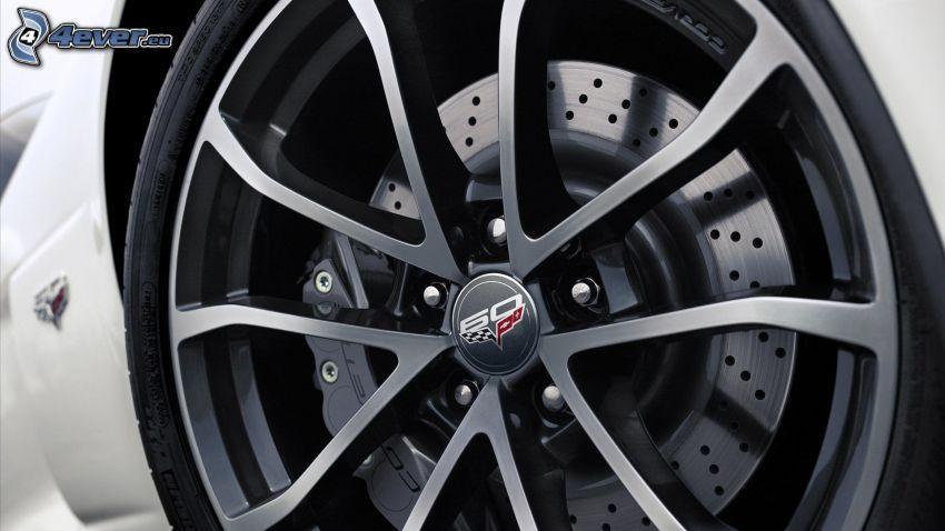 Chevrolet Corvette, hjul, disk, broms