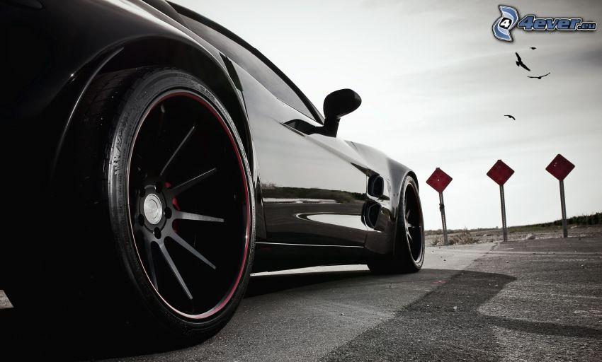 Chevrolet Corvette C6, hjul