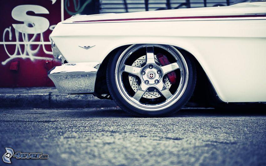 Chevrolet Impala, hjul, lowrider