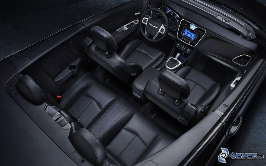 Chrysler 200 Convertible, cabriolet, interiör