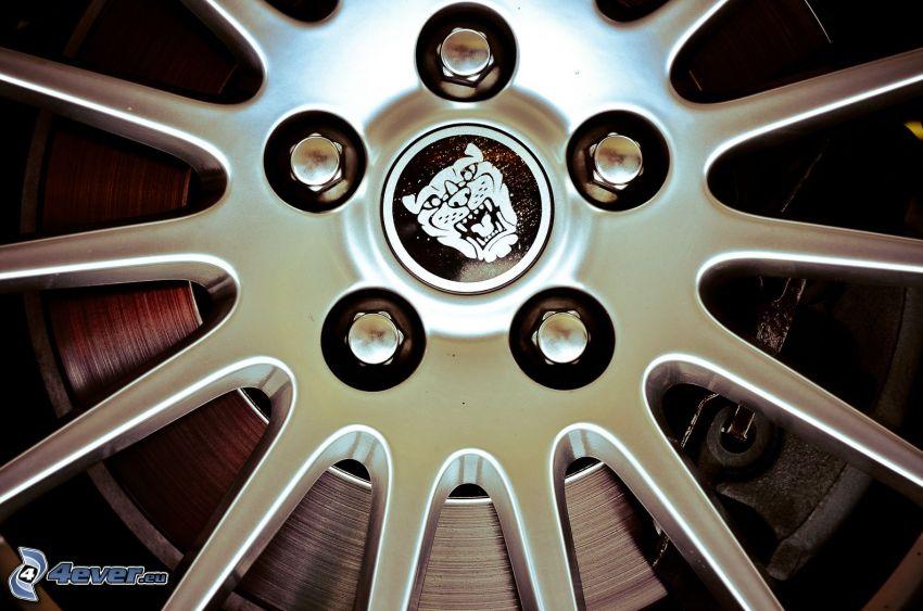disk, hjul, broms