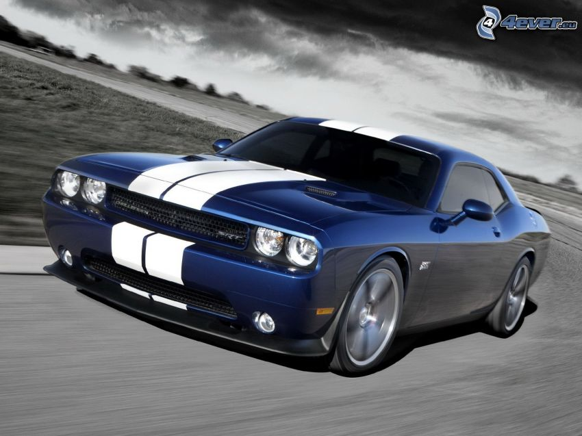 Dodge Challenger SRT, fart