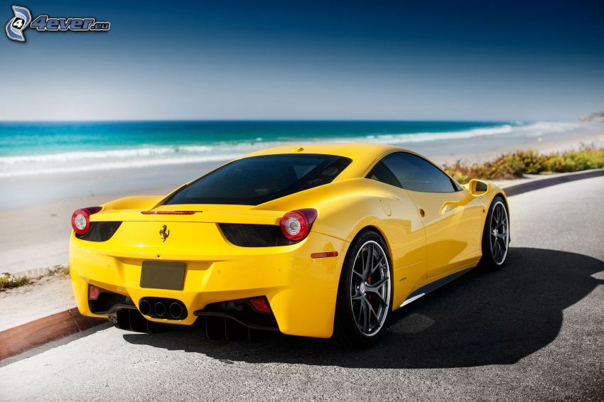 Ferrari 458 Italia, hav