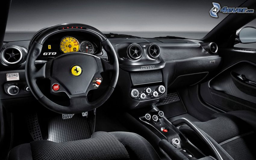 Ferrari 599 GTO, interiör