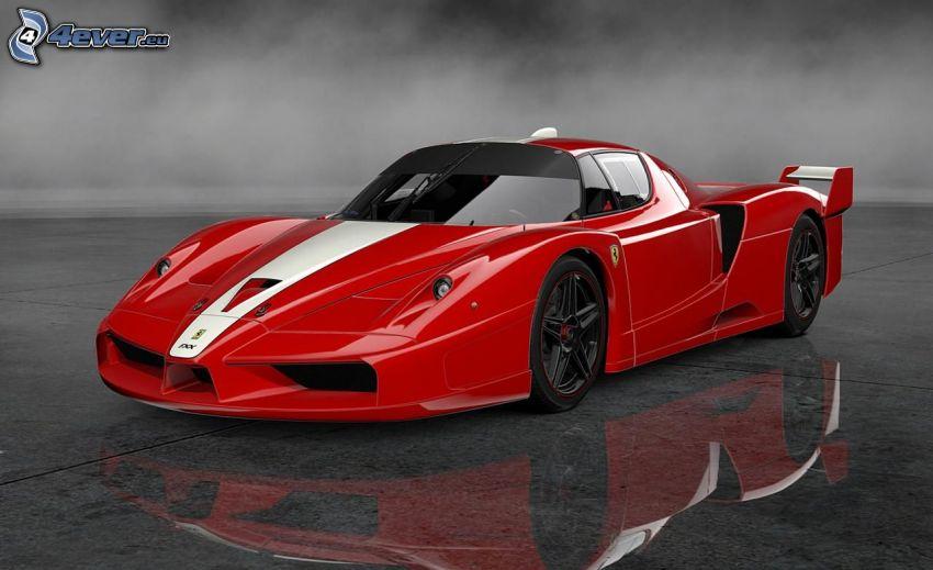 Ferrari FXX, spegling
