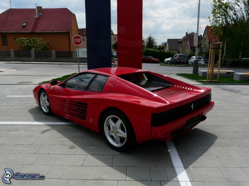Ferrari TR, gator, stop