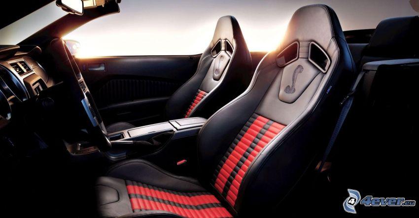 Ford Shelby GT500KR, interiör, säte
