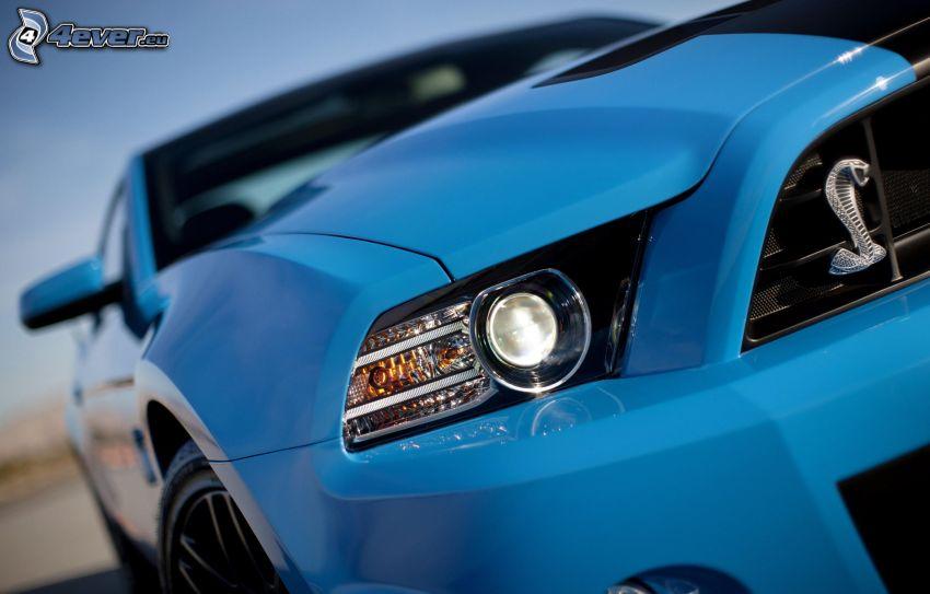Ford Shelby GT500KR, strålkastare