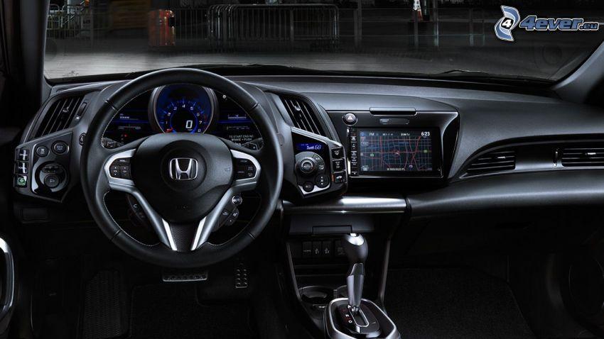 Honda CR-Z, interiör, instrumentbräda, ratt
