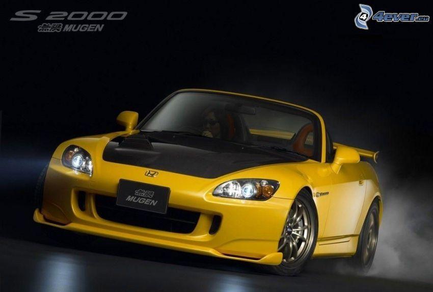 Honda S2000, cabriolet