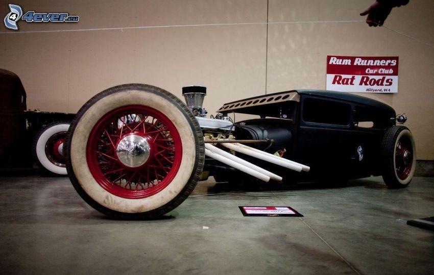 Hot Rod, veteran, hjul