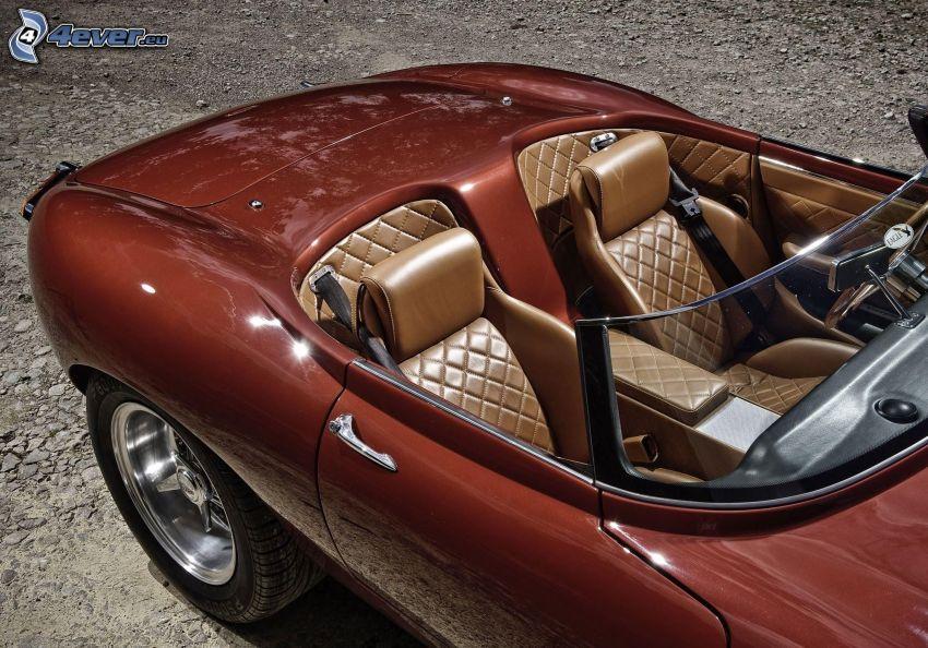 Jaguar Eagle, cabriolet, interiör