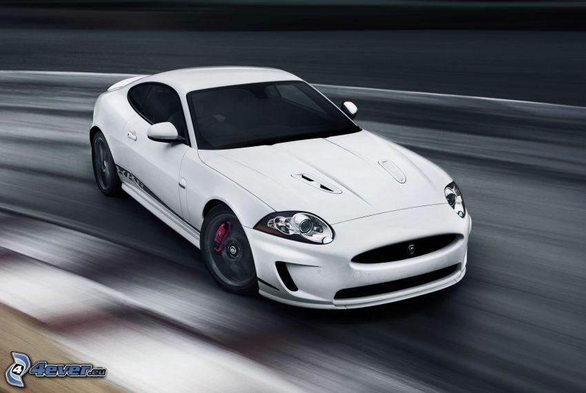 Jaguar XKR, fart, drifting