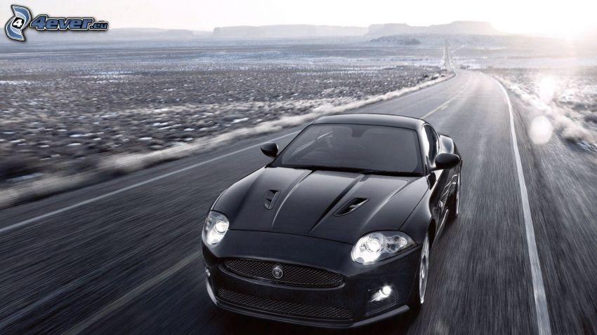 Jaguar XKR-S Convertible, väg