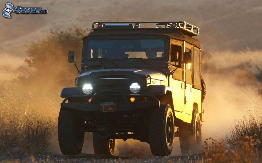 Jeep, damm