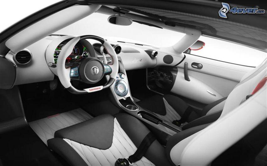 Koenigsegg Agera R, interiör