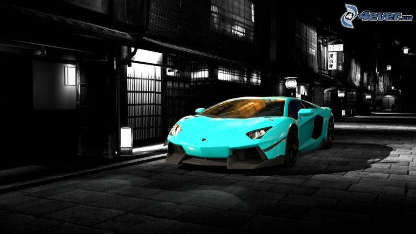 Lamborghini Aventador, gata