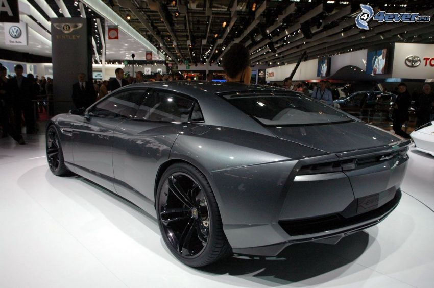 Lamborghini Estoque, bilutställning, utställning