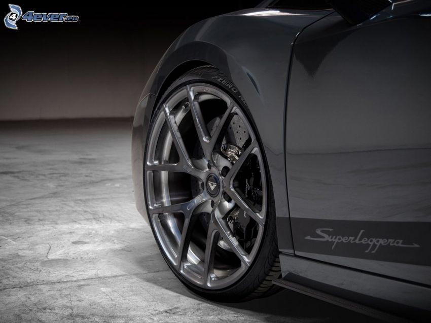 Lamborghini Gallardo, hjul, disk
