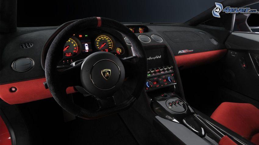 Lamborghini Gallardo LP570, interiör