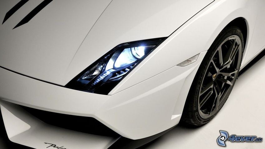 Lamborghini Gallardo LP570, strålkastare, hjul