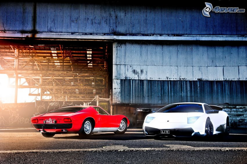 Lamborghini Miura, evolution