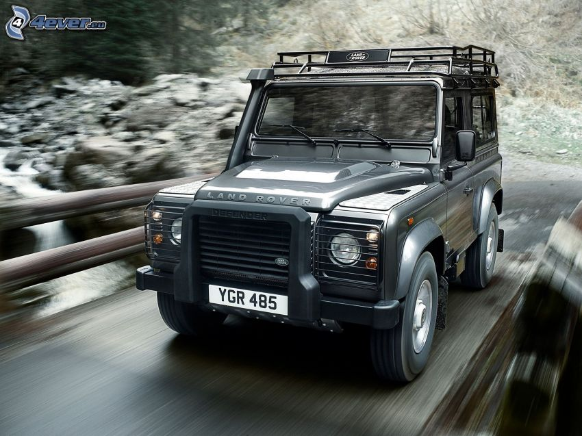 Land Rover Defender, fart