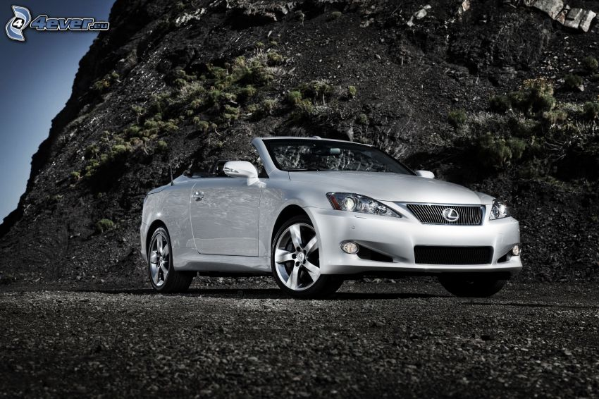 Lexus IS 350, cabriolet, klippa