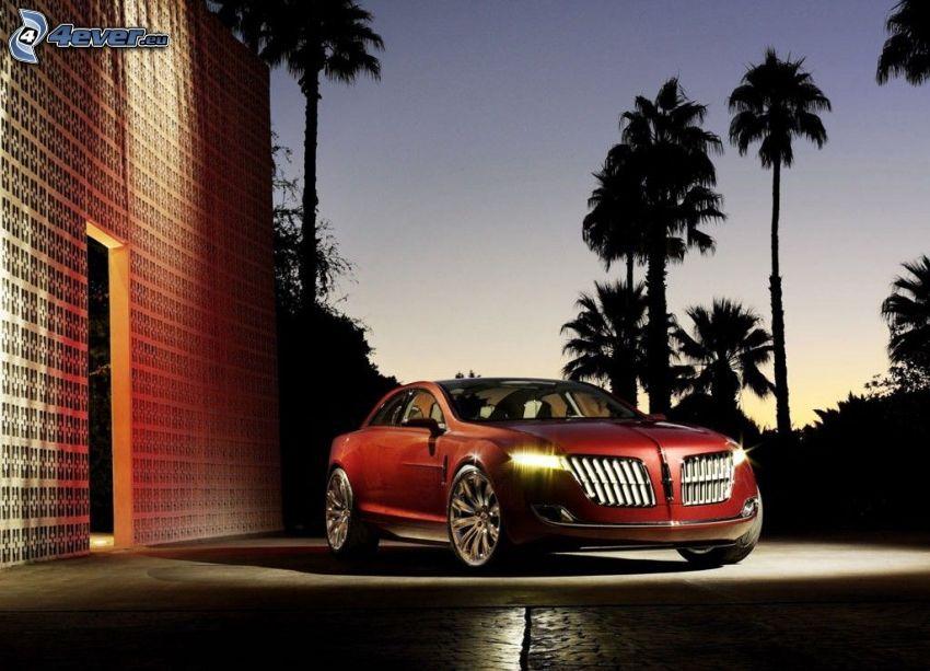 Lincoln MKR, palmer