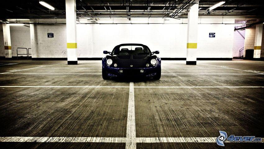 Lotus Elise, parkering