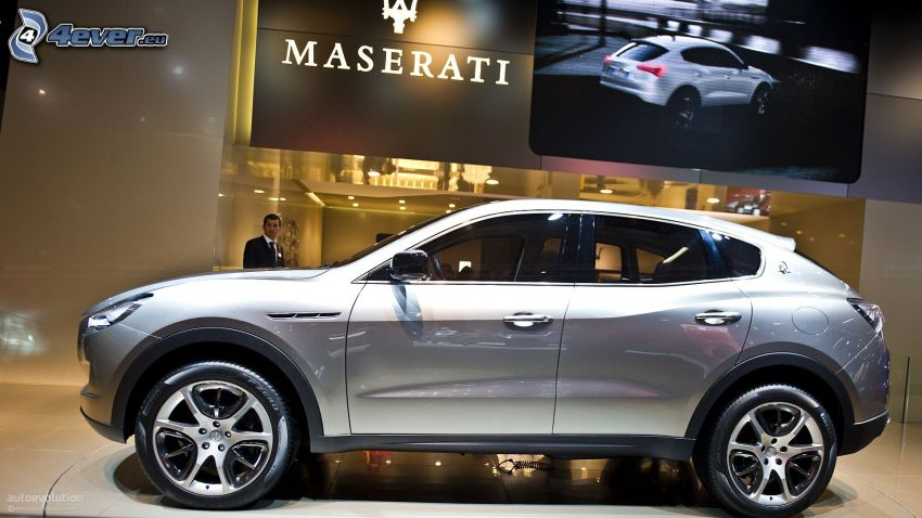 Maserati Kubang, utställning, bilutställning