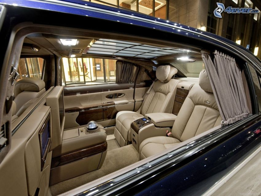 Maybach 62S, interiör