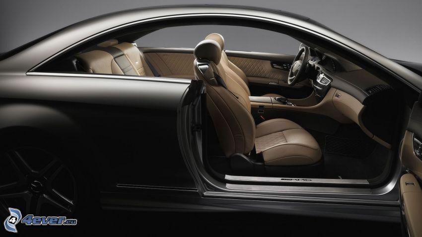 Mercedes-Benz CL 65 AMG, interiör