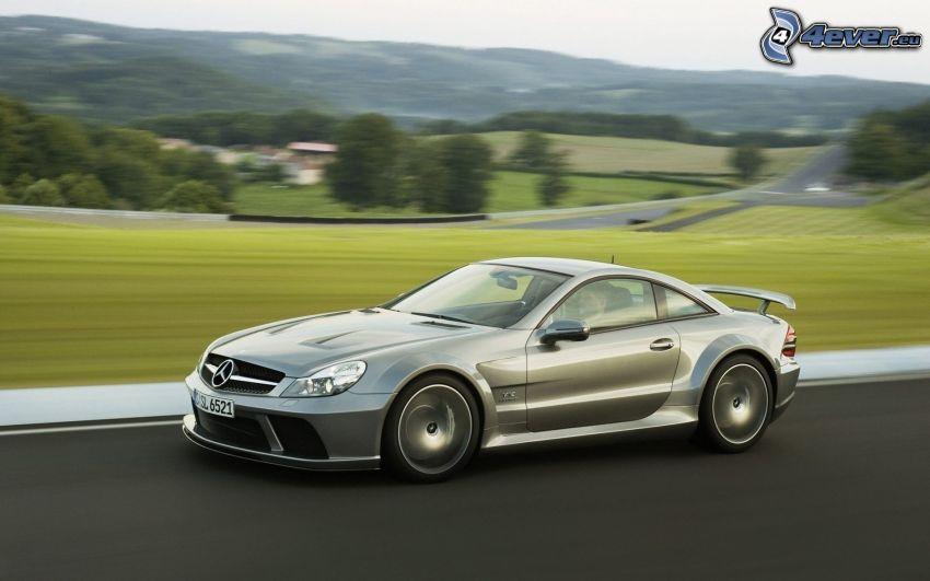Mercedes-Benz SL65 AMG, fart