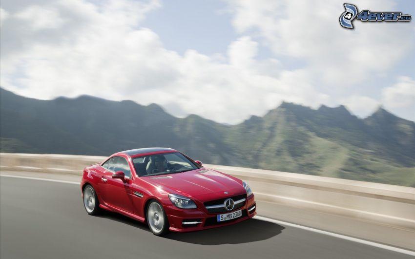 Mercedes-Benz SLK, fart, kullar