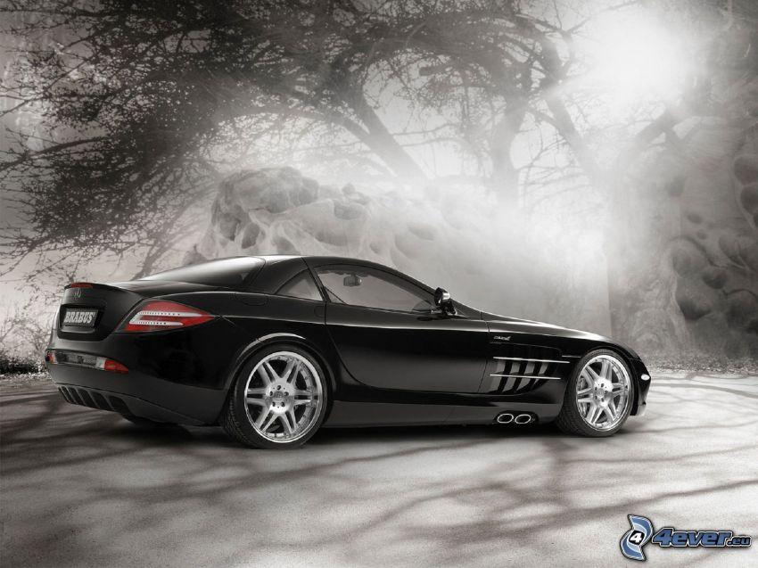 Mercedes-Benz SLR McLaren, dimma
