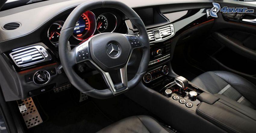 Mercedes Brabus, interiör, ratt, instrumentbräda