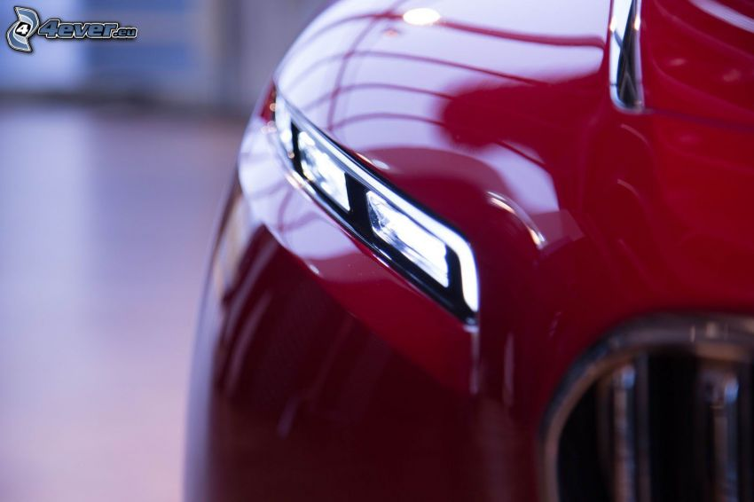 Mercedes-Maybach 6, framljus