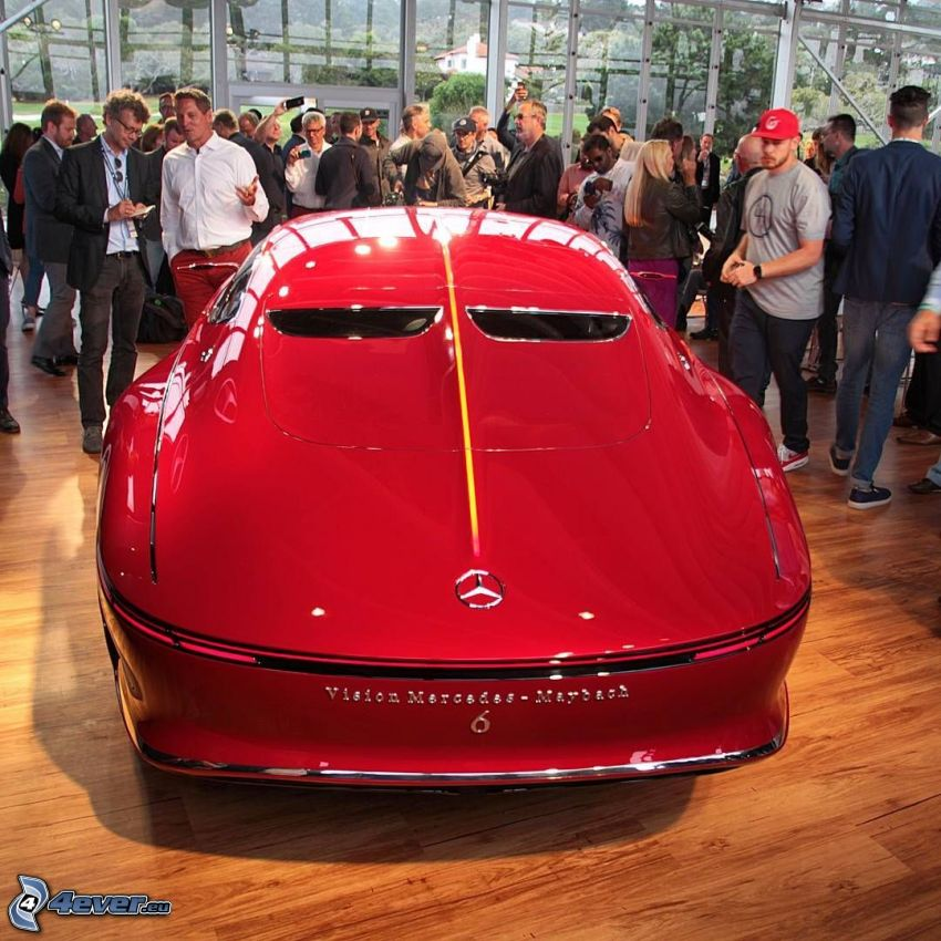 Mercedes-Maybach 6, utställning, bilutställning