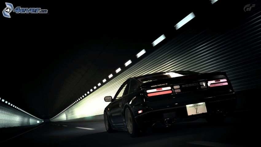 Nissan 300ZX, tunnel