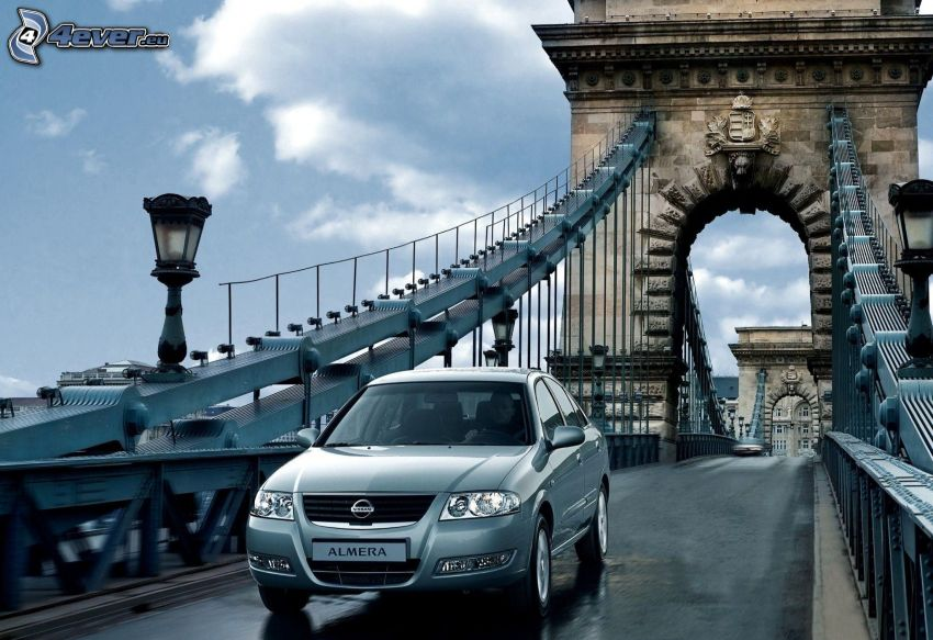Nissan Almera, bro, Budapest