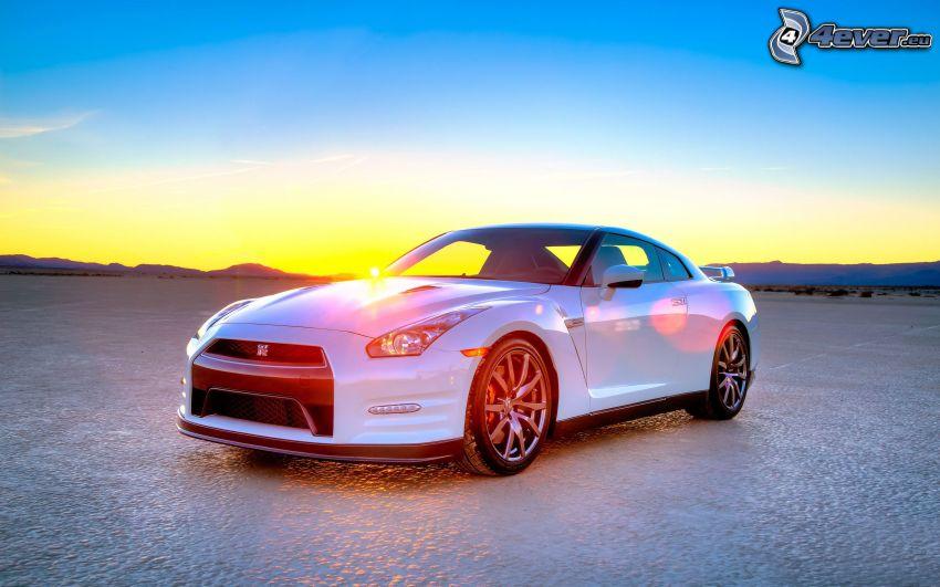 Nissan GT-R, soluppgång