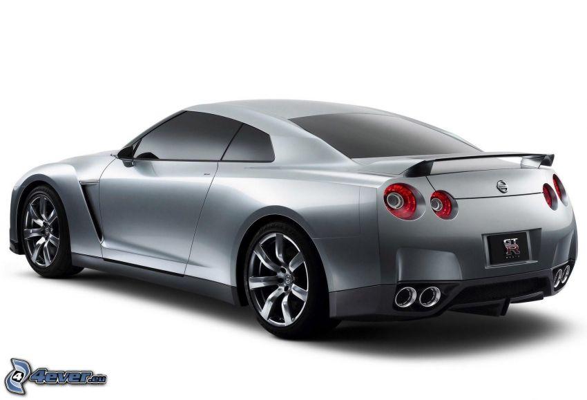 Nissan GTR, avgasrör