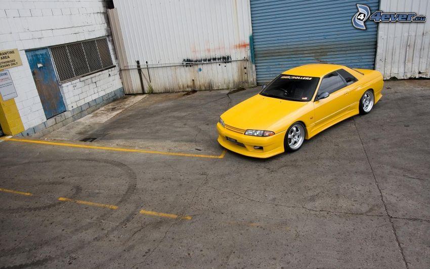 Nissan Skyline, parkering