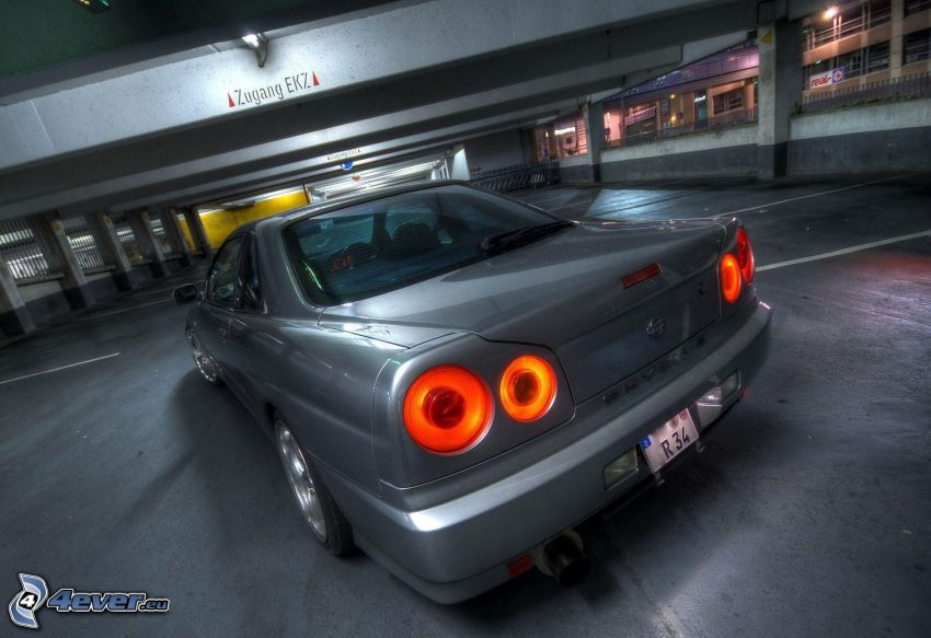 Nissan Skyline GT-R, parkering