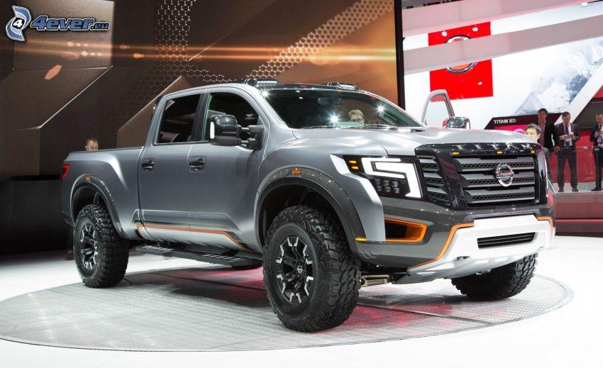 Nissan Titan, utställning, bilutställning