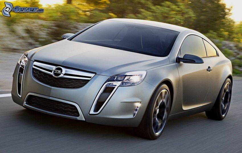Opel Insignia OPC, fart
