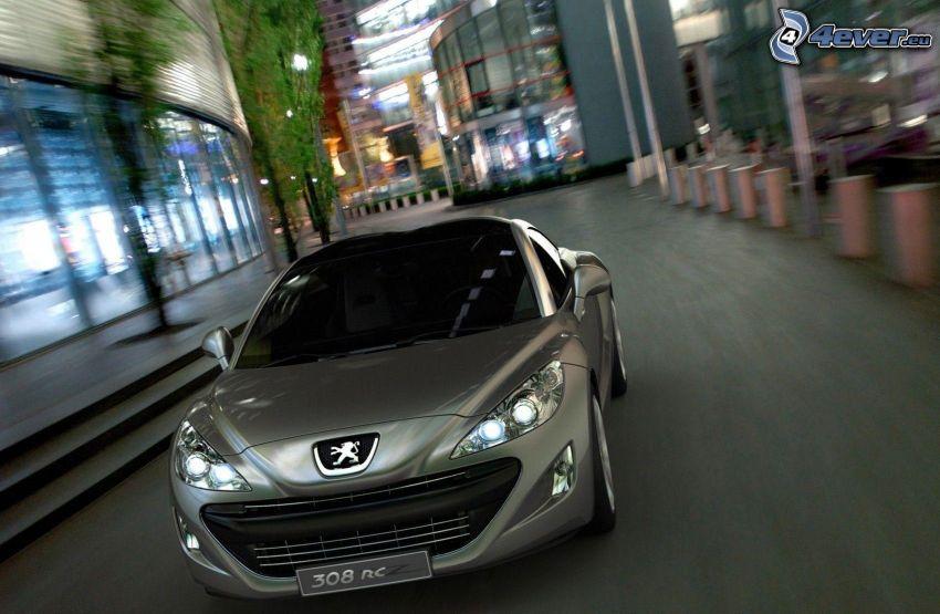 Peugeot 308RCZ, fart