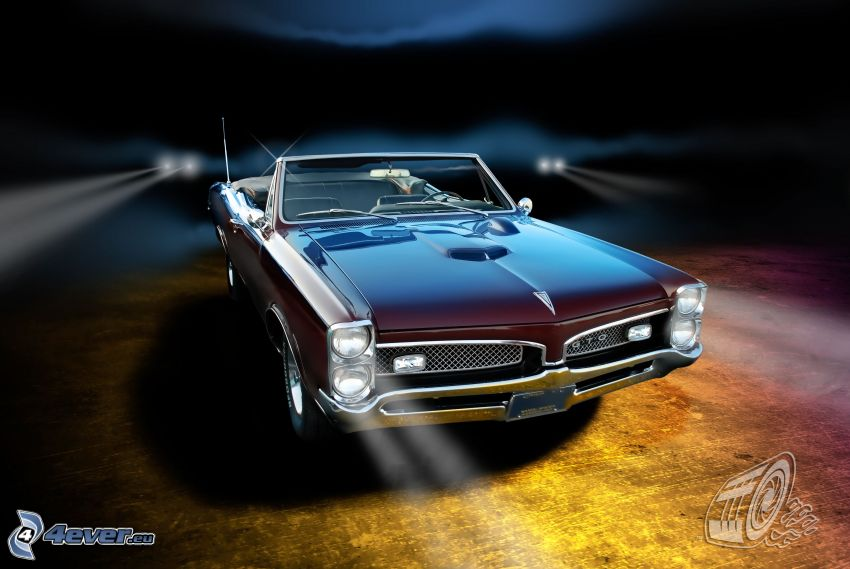 Pontiac GTO 67, cabriolet, veteran