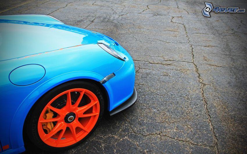 Porsche, hjul, disk